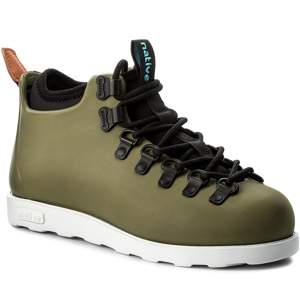 Trapery NATIVE - Fitzsimmons Juice Green/Shell White