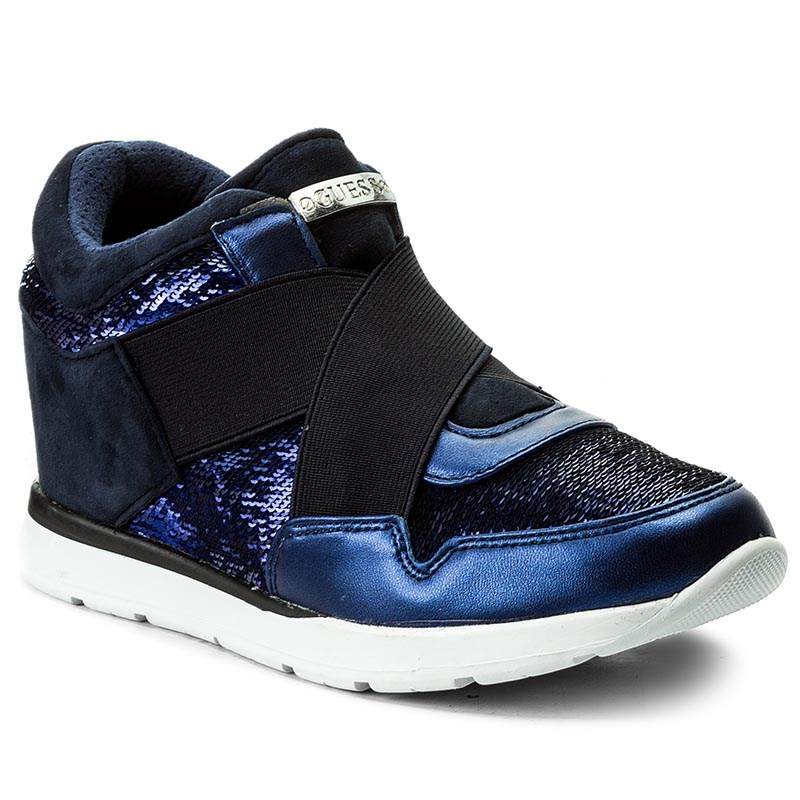 Sneakersy GUESS - Laylow FLLAY4 FAB12 NAVY