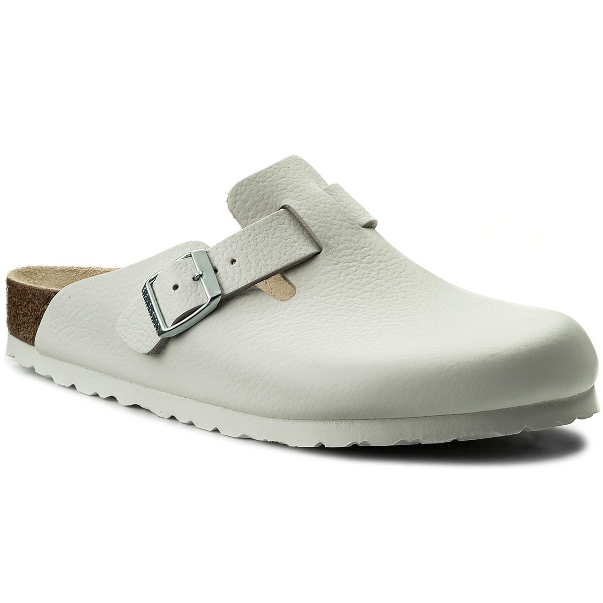 Klapki BIRKENSTOCK - Boston Bs 0060131  White