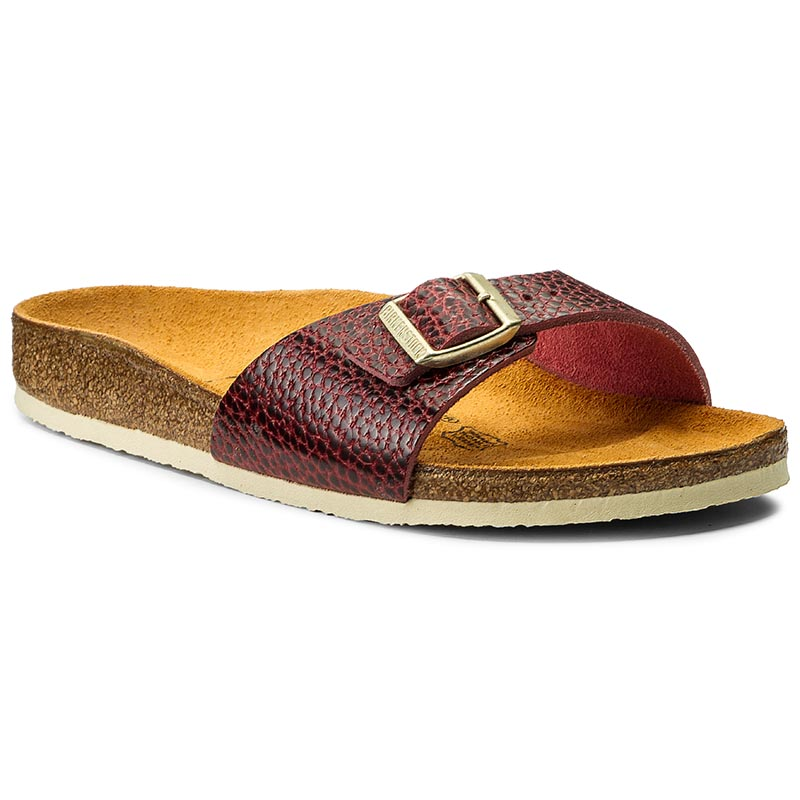 Klapki BIRKENSTOCK - Madrid 339053 Antik Bordeaux