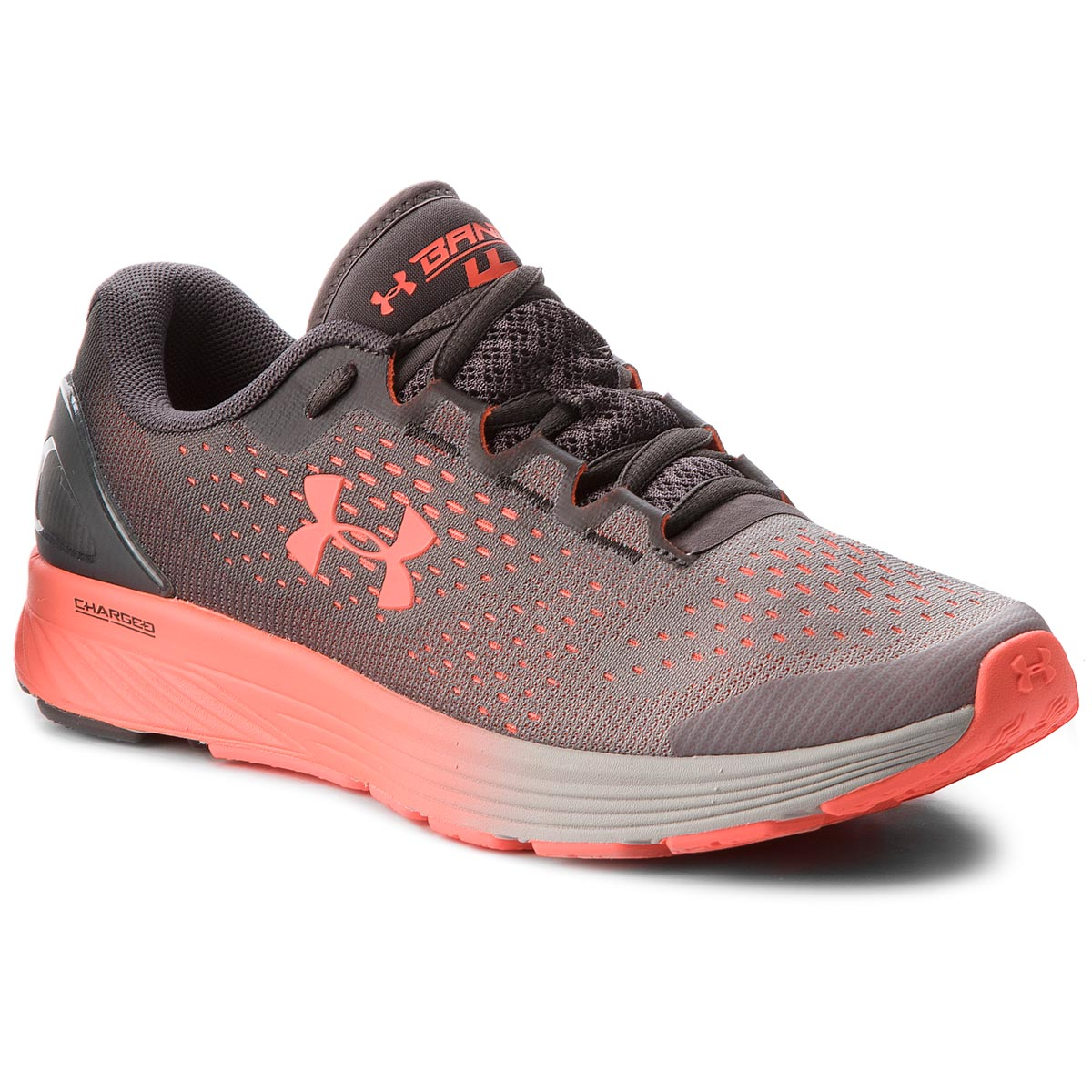 Buty UNDER ARMOUR - Ua Charged Bandit 4 3020357-101 Gry