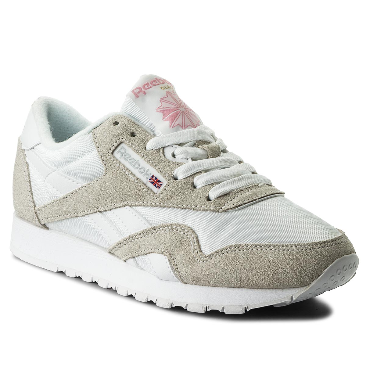Buty Reebok - Cl Nylon 6394 White/Light Grey