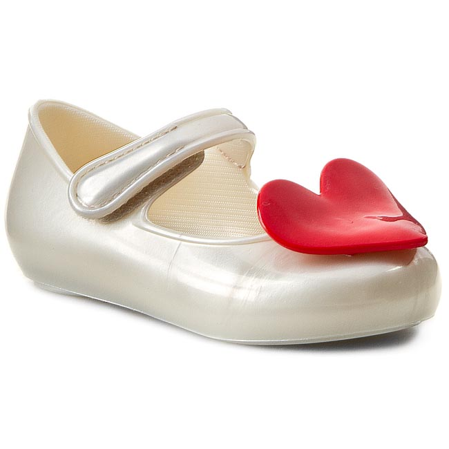 Półbuty MEL BY MELISSA - Mel Cool Baby Sp Bb 31546 White/Red 51388
