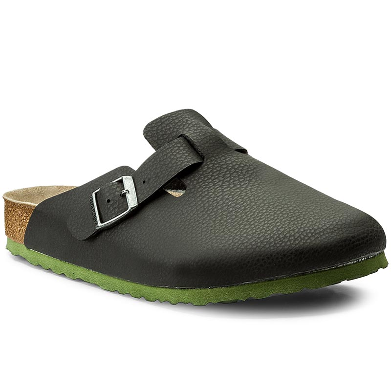Klapki BIRKENSTOCK - Boston Bs 1006434 Desert Soil Black