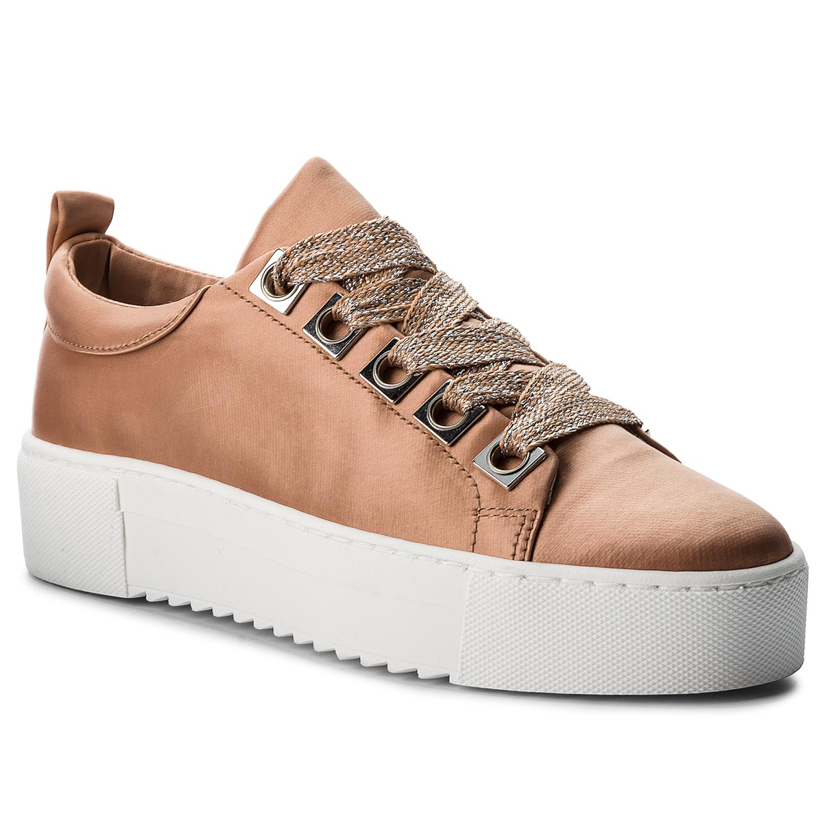 Sneakersy BRONX - 66121-A New Nude 2208