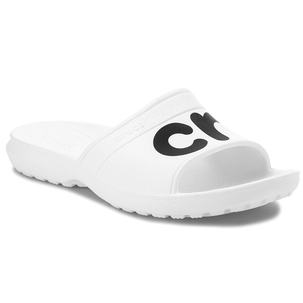 Klapki CROCS - Classic Graphic Slide 204465 White/Black
