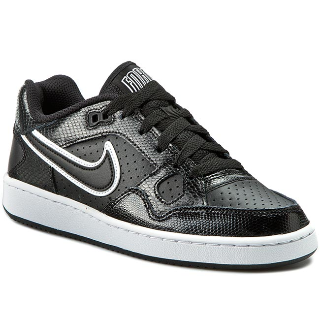 Buty NIKE - Son Of Force 616302 011 Black/Black/White