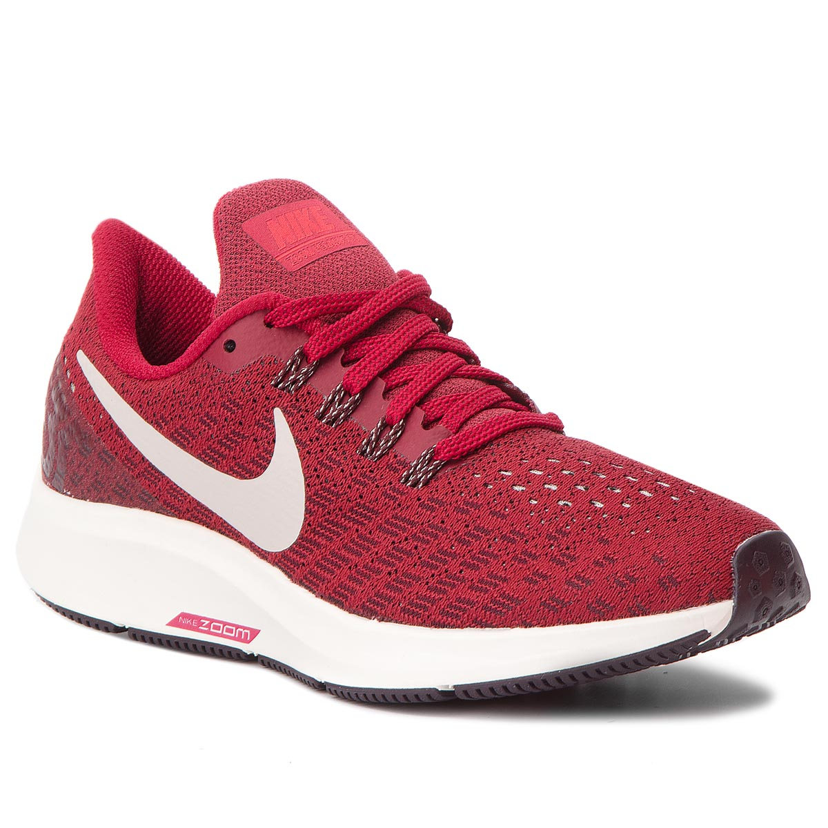 Buty NIKE - Air Zoom Pegasus 35 942855 604  Red Crush/Moon Particle