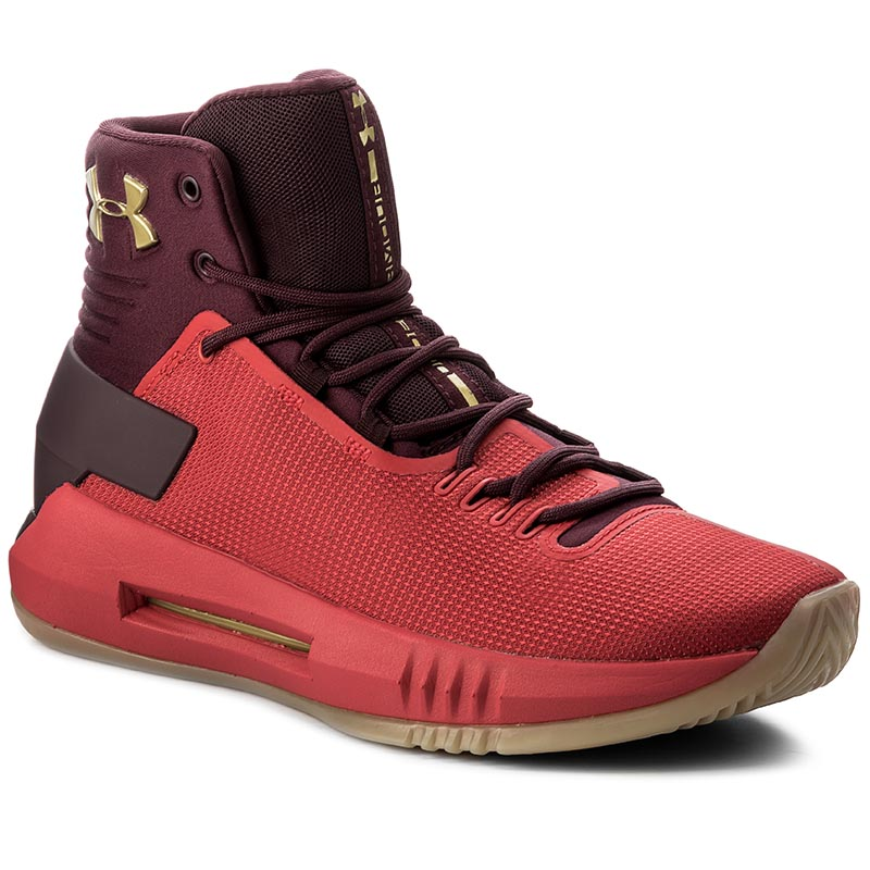 Buty UNDER ARMOUR - Ua Drive 4 1298309-600 Red/Red/Mgo