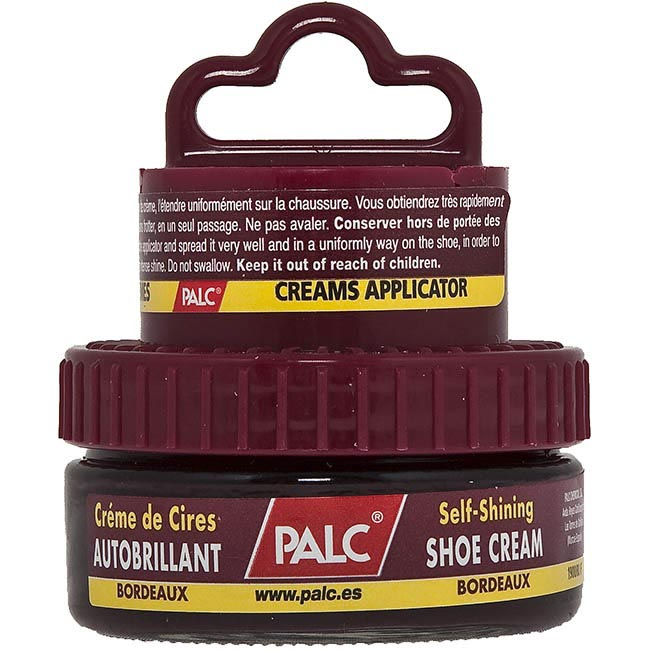 Krem do obuwia PALC - SHOE CREAM BORDEAUX