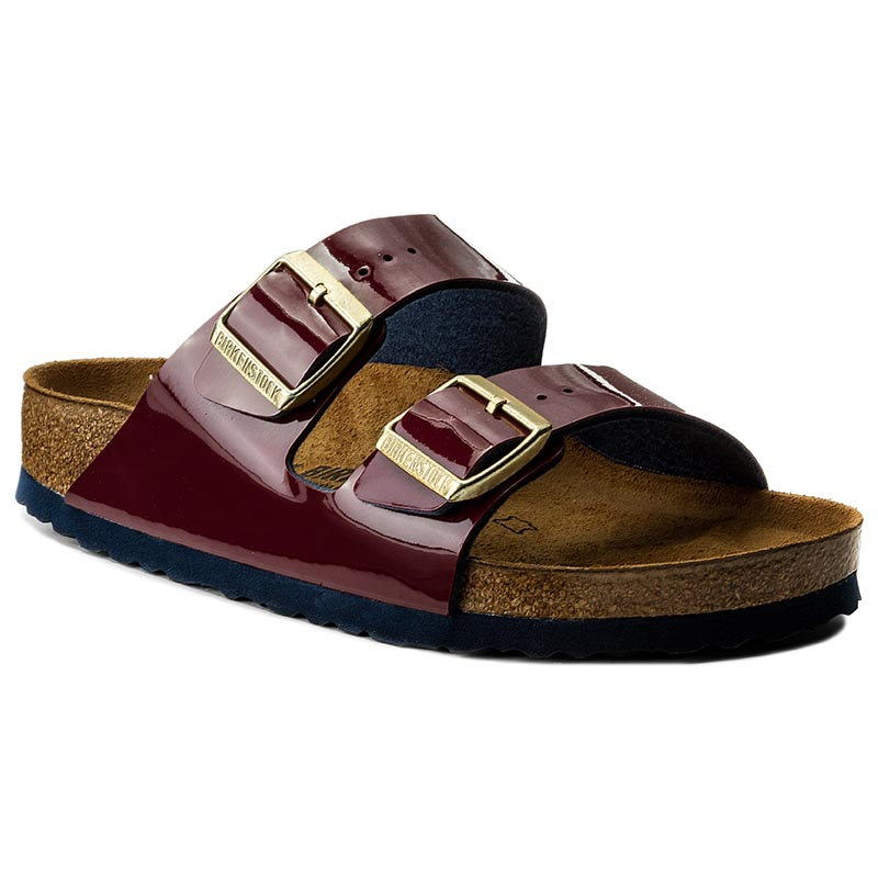 Klapki BIRKENSTOCK - Arizona Bs 1006669 Two Tone Wine Flame