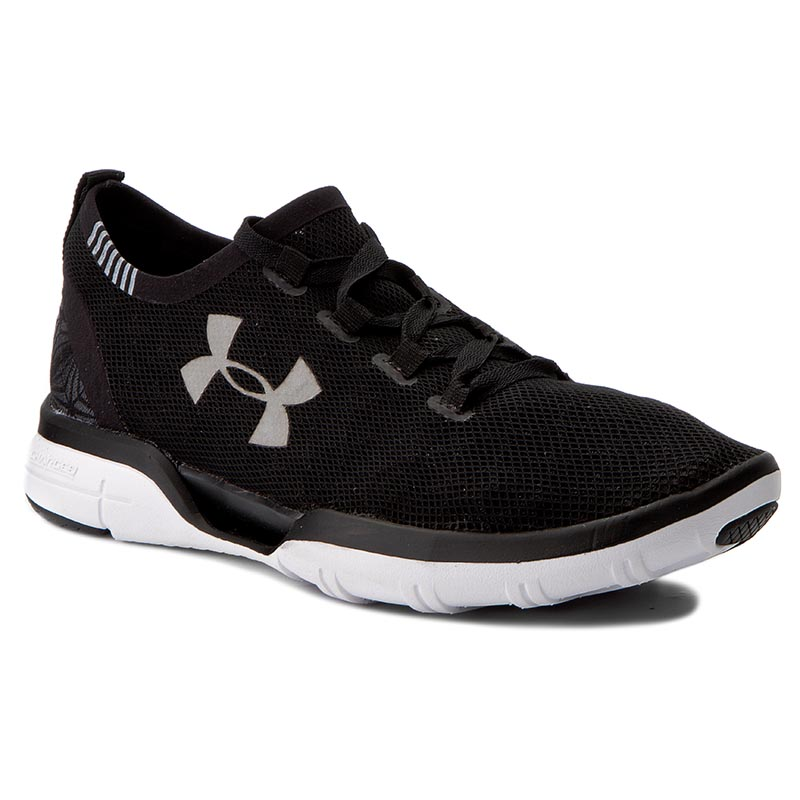 Buty UNDER ARMOUR - Ua Charged Coolswitch Run 1285485-001 Blk/Wht/Wht