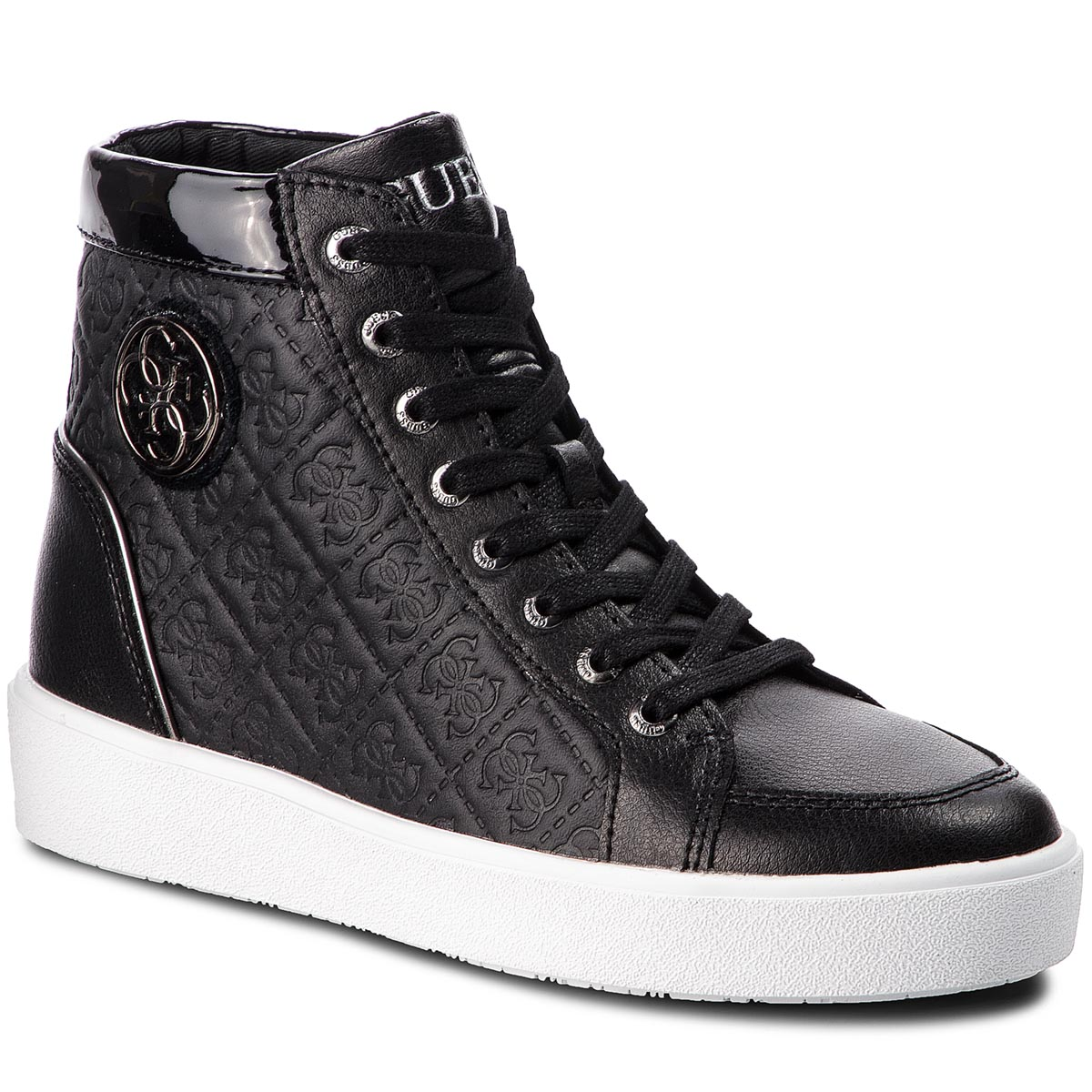 Sneakersy GUESS - FLACE3 LEP12 BLACK