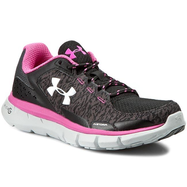 Buty UNDER ARMOUR - Ua W Microg Velocity Rn Storm 1258732-002 Blk/Rbp/Msv