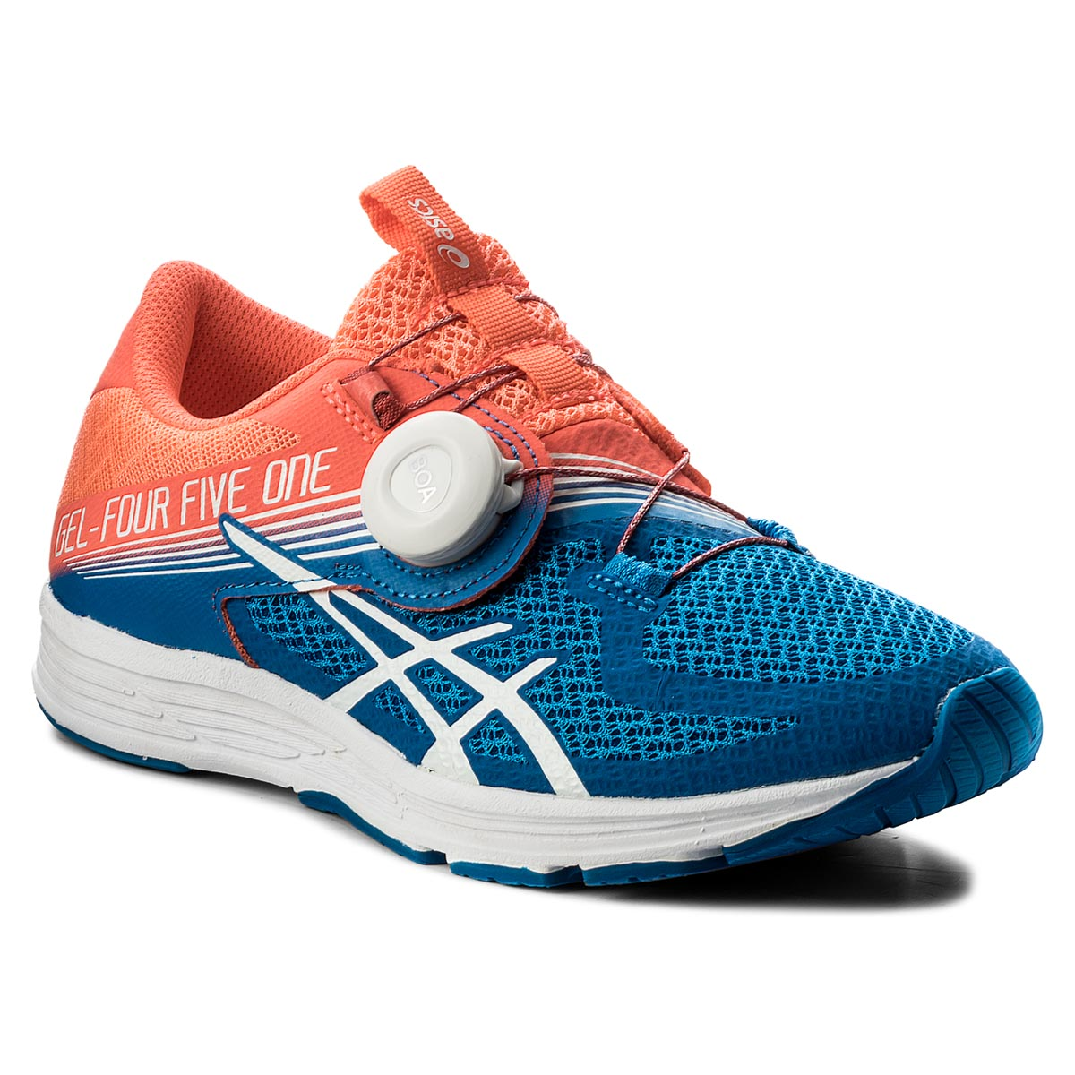 Buty ASICS - Gel-451 T874N Flash Coral/White/Directoire Blue 0601