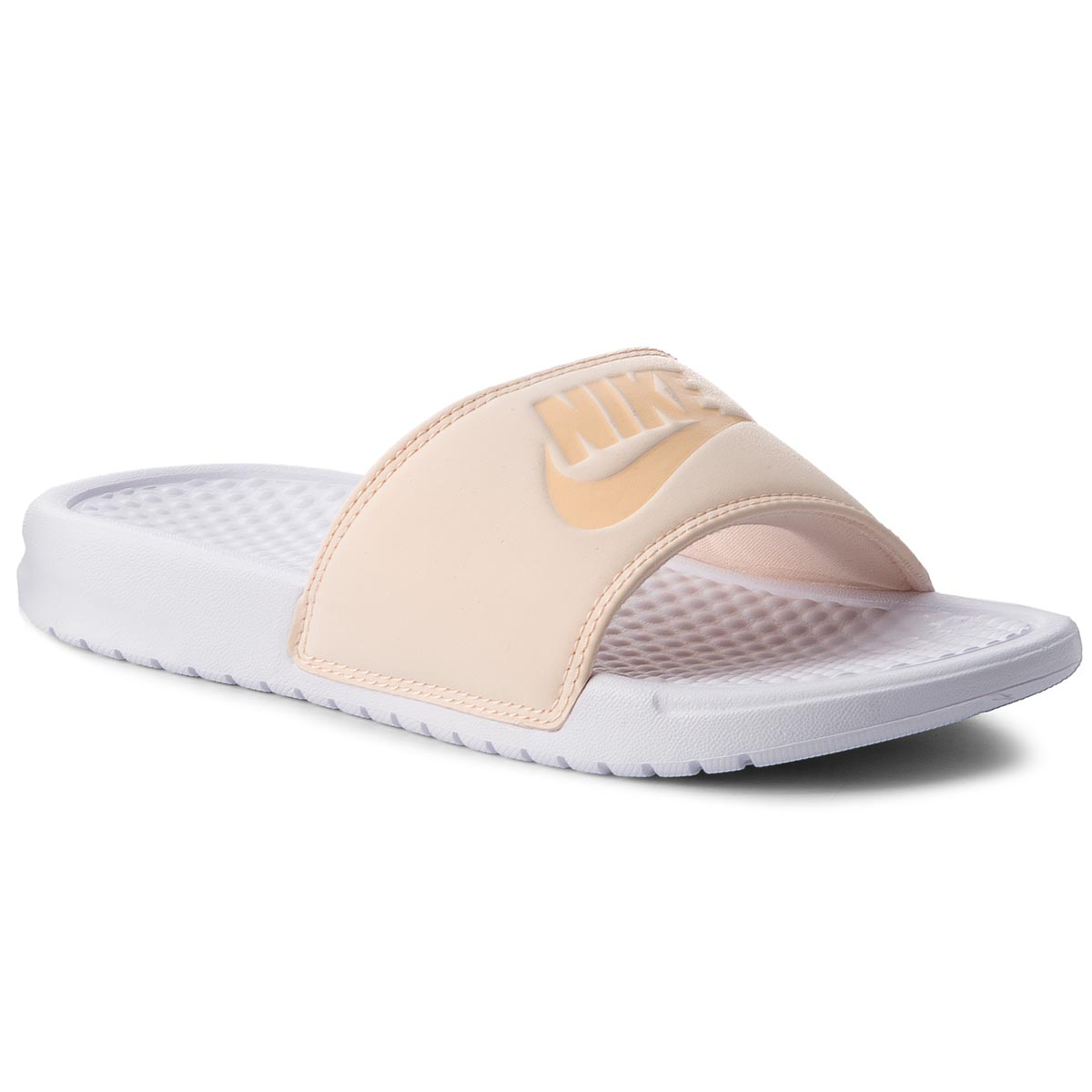 Klapki NIKE - Benassi Jdi Pastel Qs AA4150 800 Orange Quartz/Ice Peach/White
