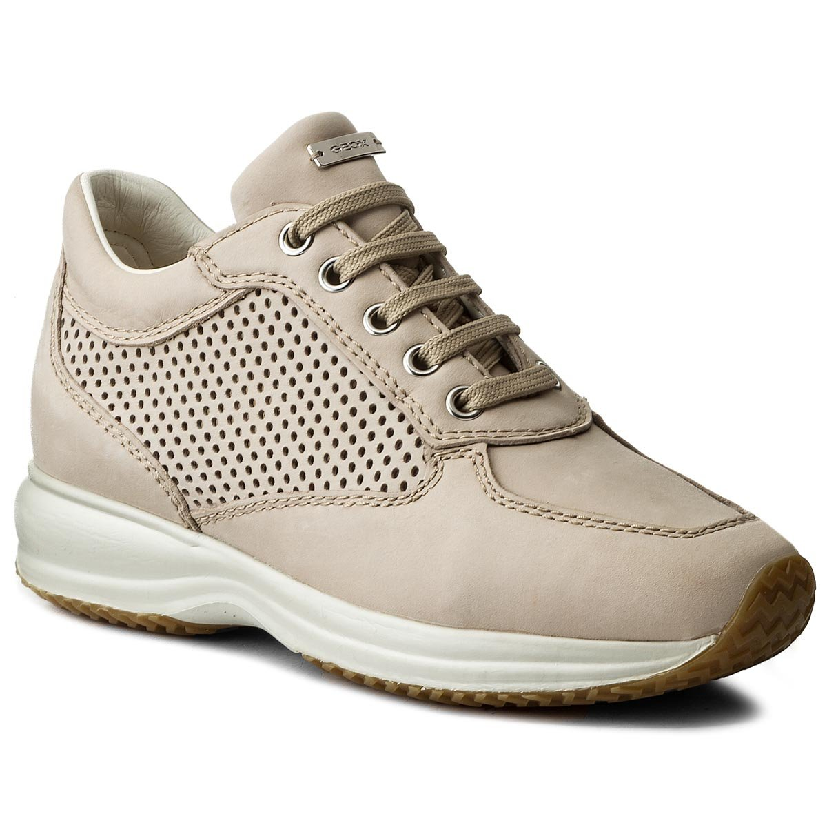 Sneakersy GEOX - D Happy A D5262A 00085 C5016  Beige