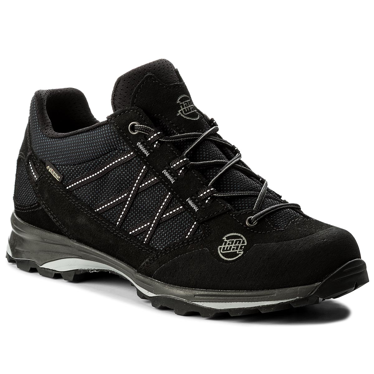 Trekkingi HANWAG - Belorado II Low Gtx GORE-TEX 201200-012012 Black/Black