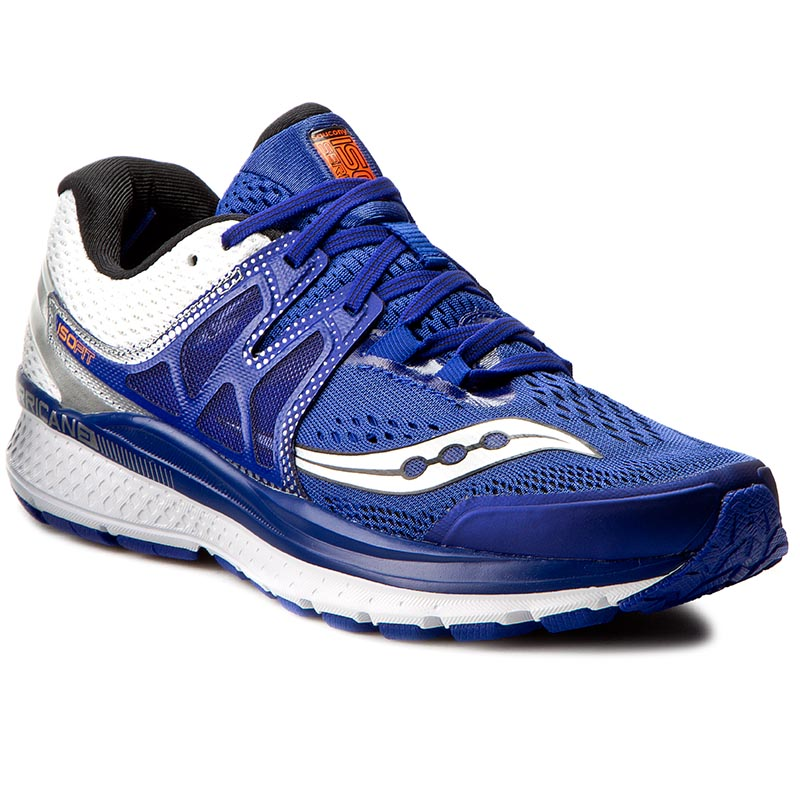 Buty SAUCONY - Hurricane Iso3 S20348-2 Blue/White/Sil