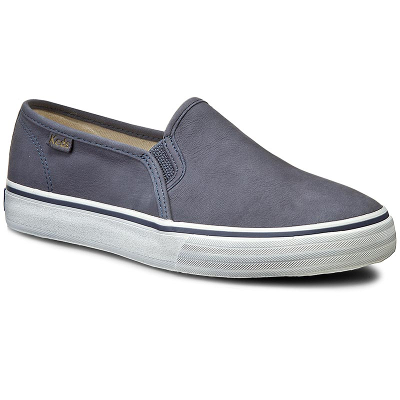Tenisówki KEDS - Double Decker WH54677 Leather Navy