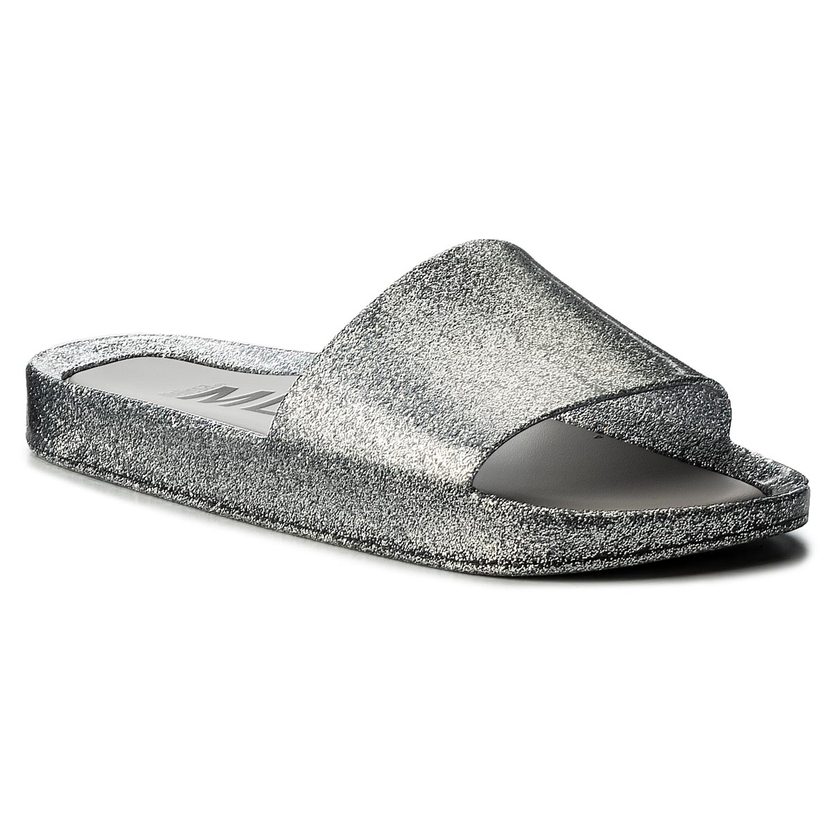 Klapki MELISSA - Beach Slide Shine Ad 32291 Glass Silver Glitter 03895