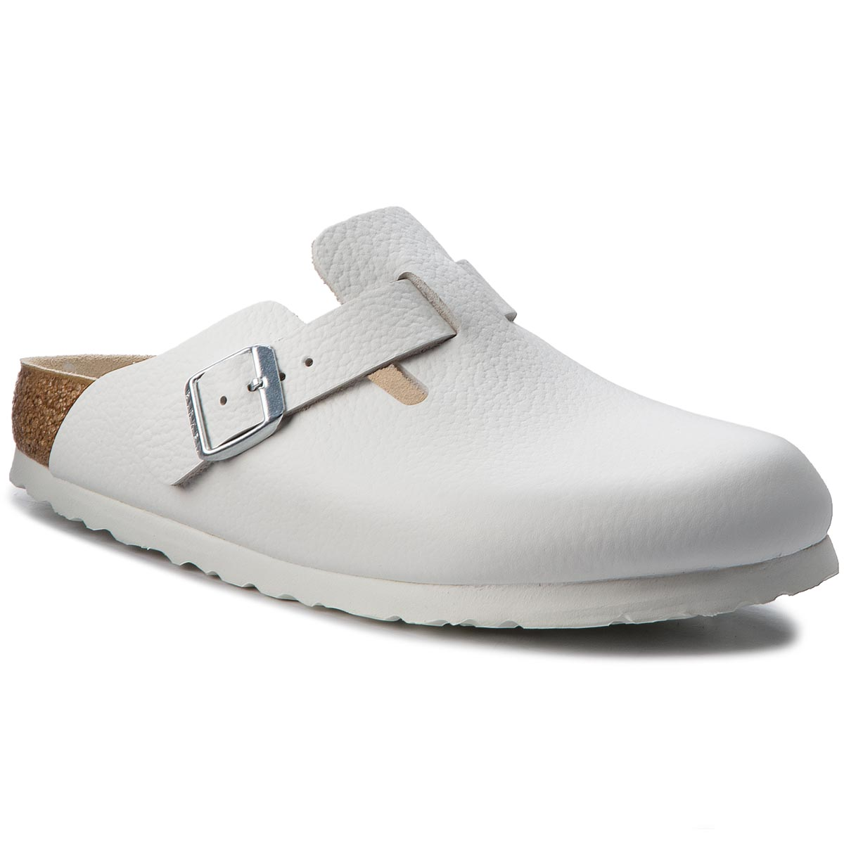 Klapki BIRKENSTOCK - Boston Bs 0060133 White