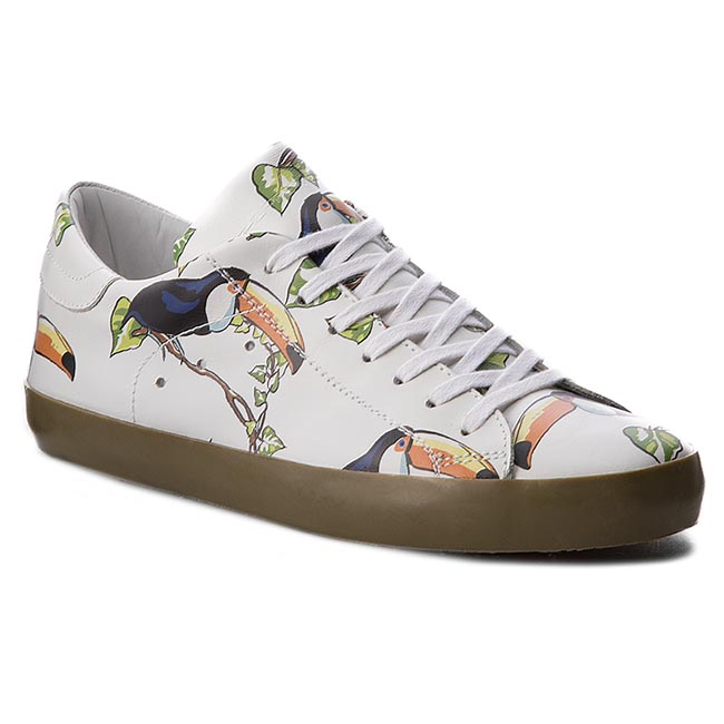 Sneakersy PHILIPPE MODEL - Classic CLLU BV09 Birds White Tucan G