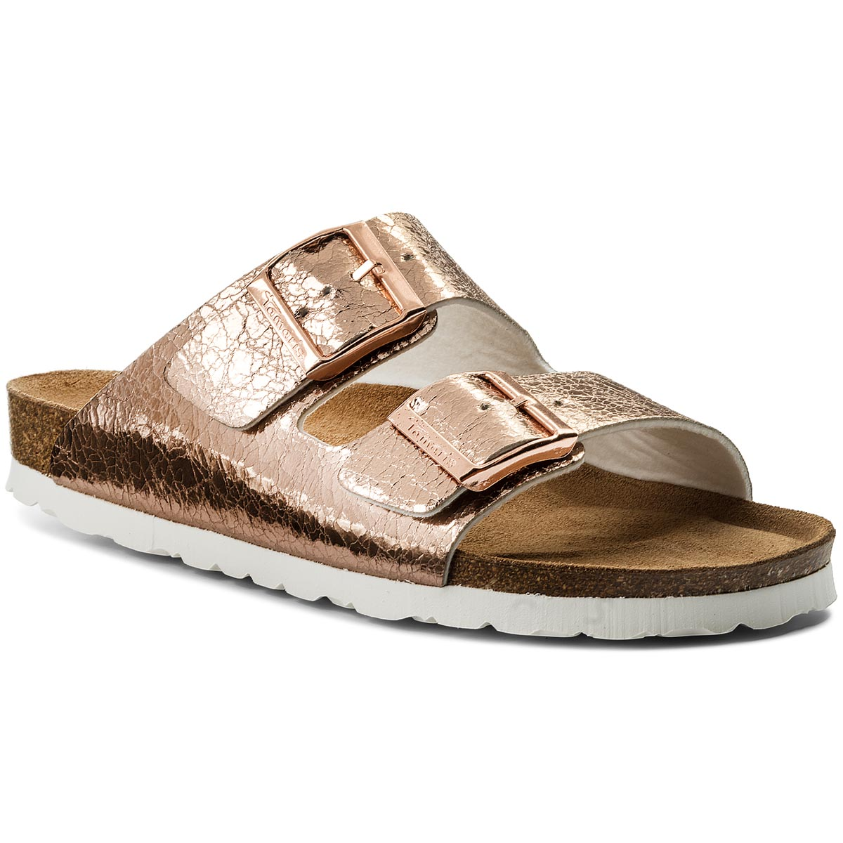 Klapki TAMARIS - 1-27525-20 Rose Metallic 952