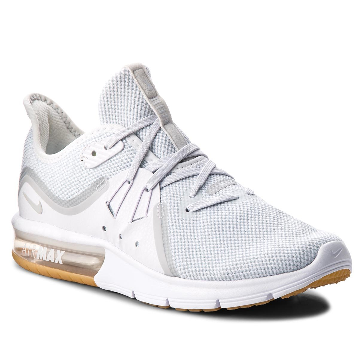 Buty NIKE - Air Max Sequent 3 908993 101 White/Pure Platinum