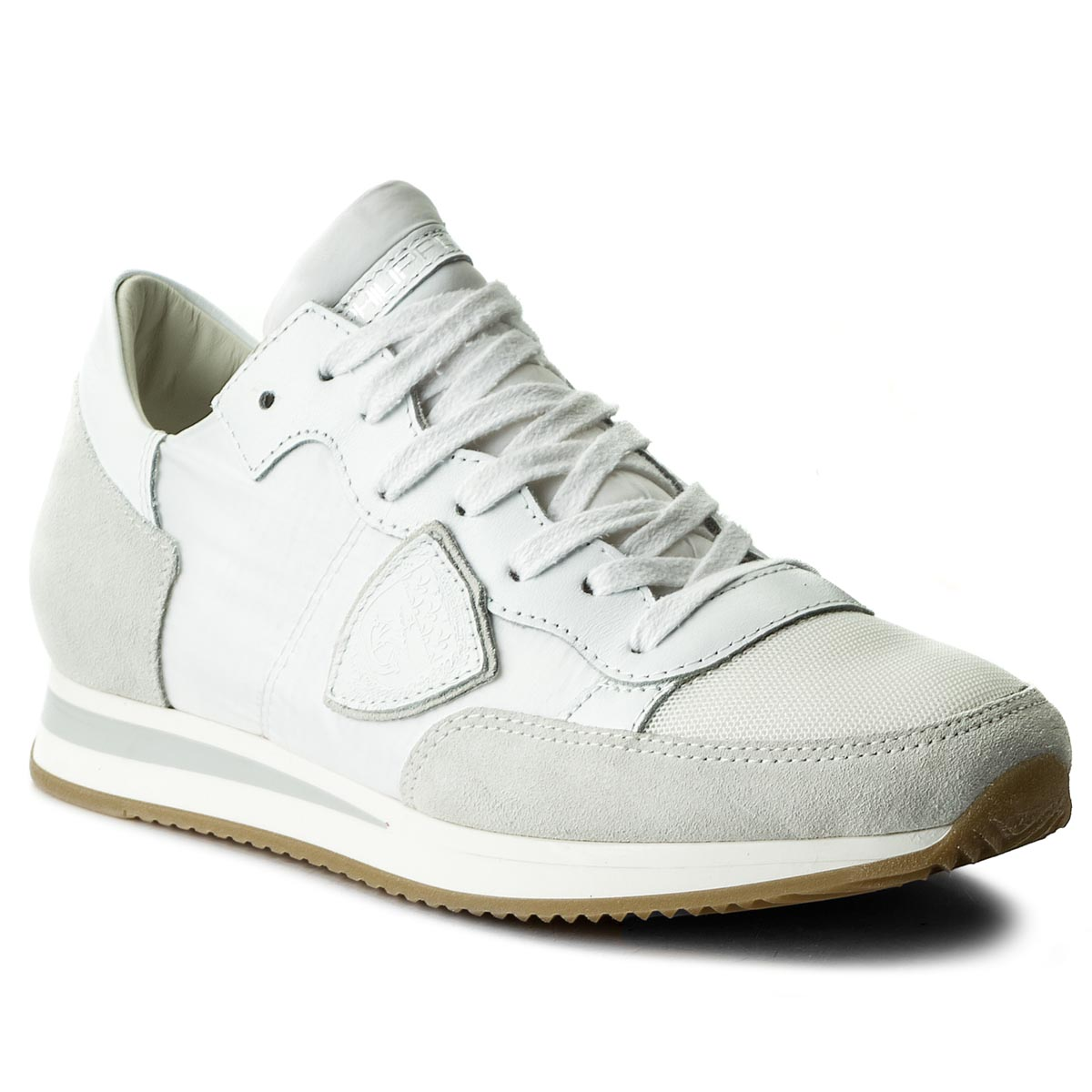 Sneakersy PHILIPPE MODEL - Tropez TRLD 1101 Basic Blanc/Bla