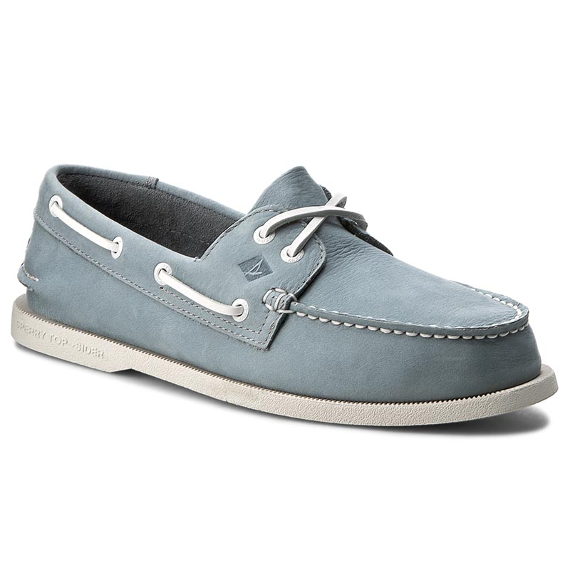 Mokasyny SPERRY - A/O 2 Eye Washable STS12257 Blue