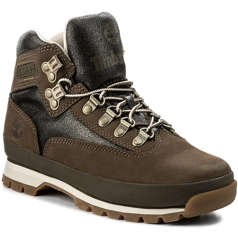Trapery TIMBERLAND - Euro Hiker Leather A1GOX Canteen
