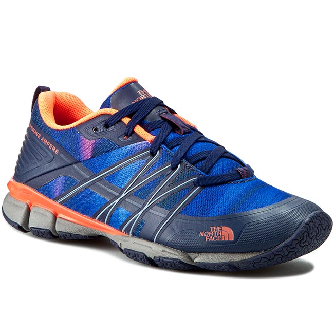 Buty THE NORTH FACE - Litewave Ampere T0CXU1GSL-050 Patriot Blue Print/Tropical Coral