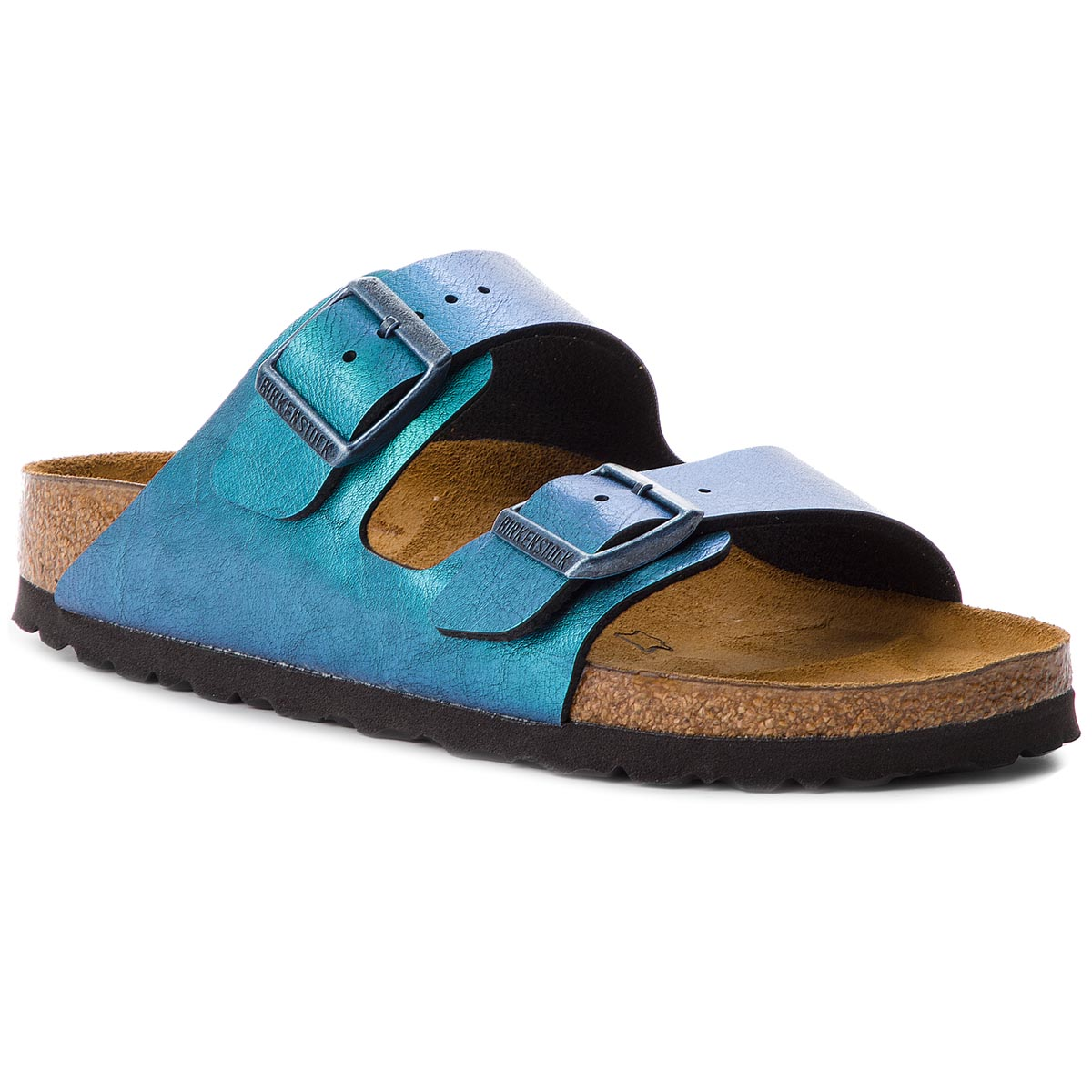 Klapki BIRKENSTOCK - Arizona Bs 1012393  Graceful Gemm Blue