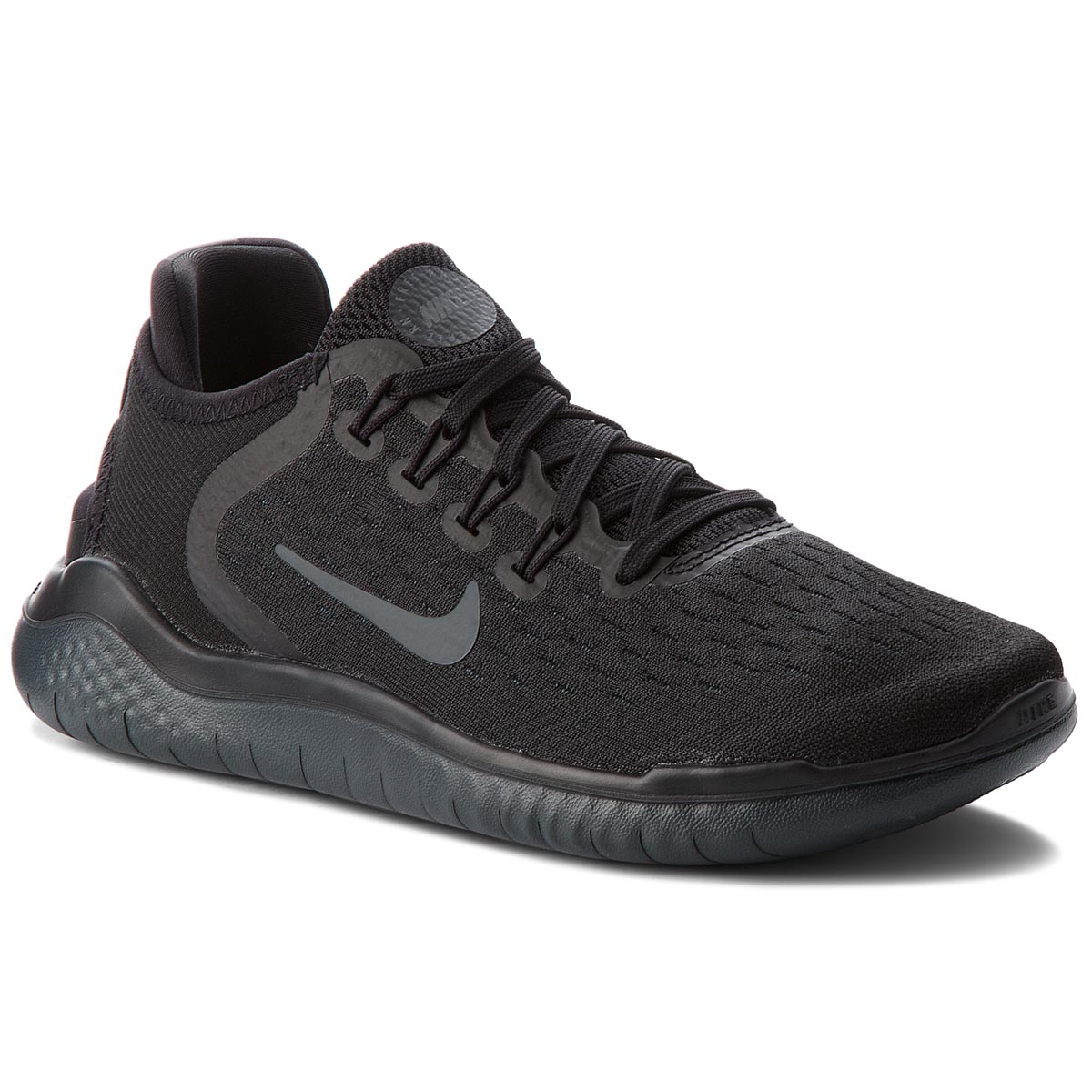Buty NIKE - Free Rn 2018 942837 002 Black/Anthracite