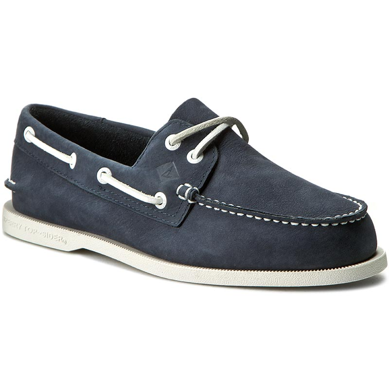 Mokasyny SPERRY - A/O 2 Eye Washable STS12253 Navy