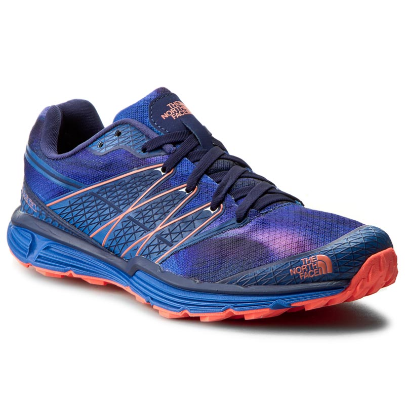 Buty THE NORTH FACE - Litewave Tr T0CXU8GSL Patriot Blue Print/Tropical Coral