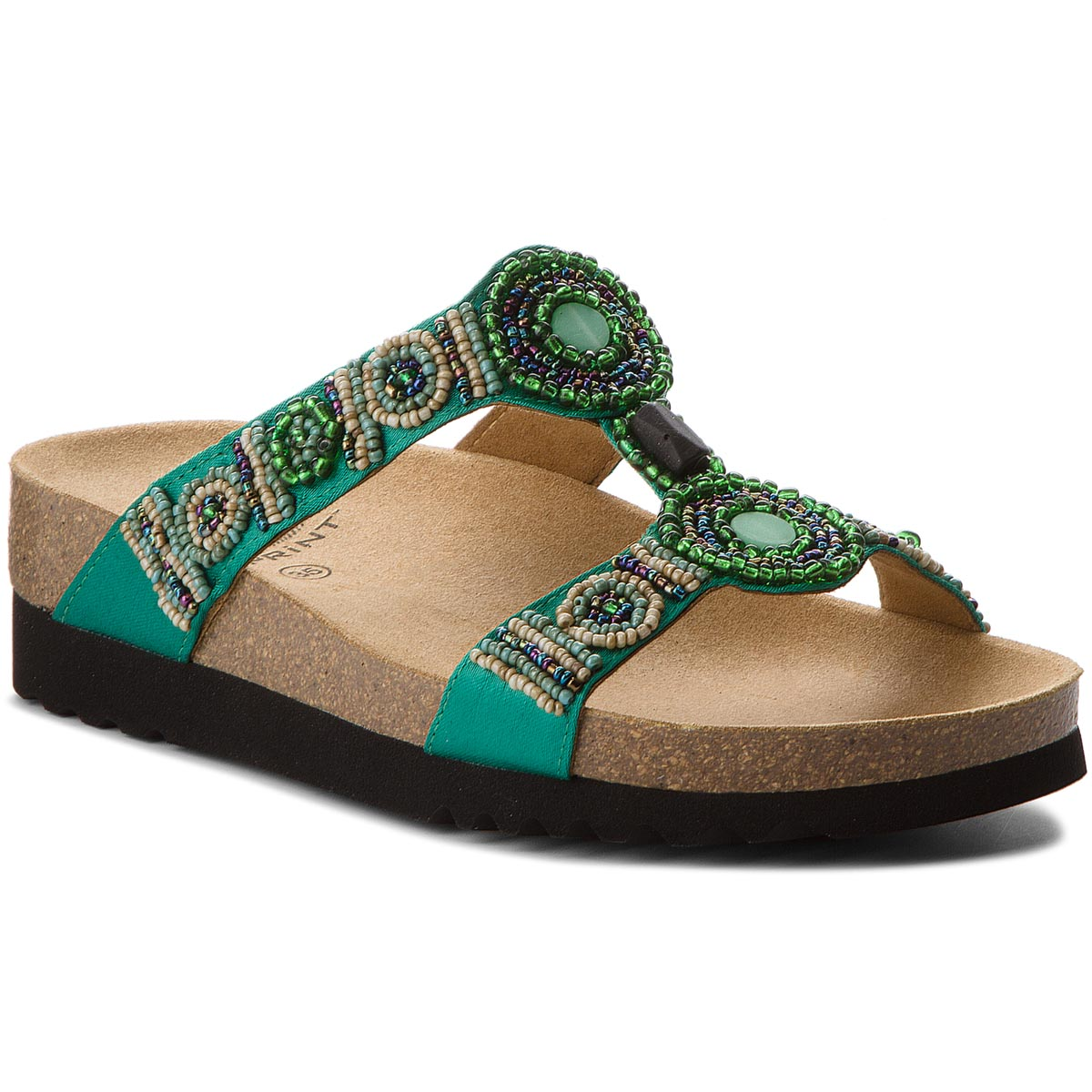 Klapki SCHOLL - New Bogota Wedge F26607 1361 350 Emerald