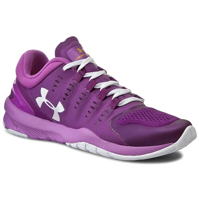 Buty UNDER ARMOUR - Ua W Charged Stunner Tr 1266379-531 Violet Impetueux/Efflorescence/Blanc