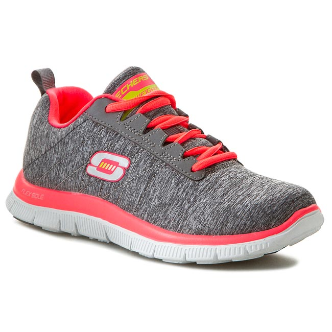 Buty SKECHERS - Flex Appeal Next Generation 11883/GYCL Gray/Coral