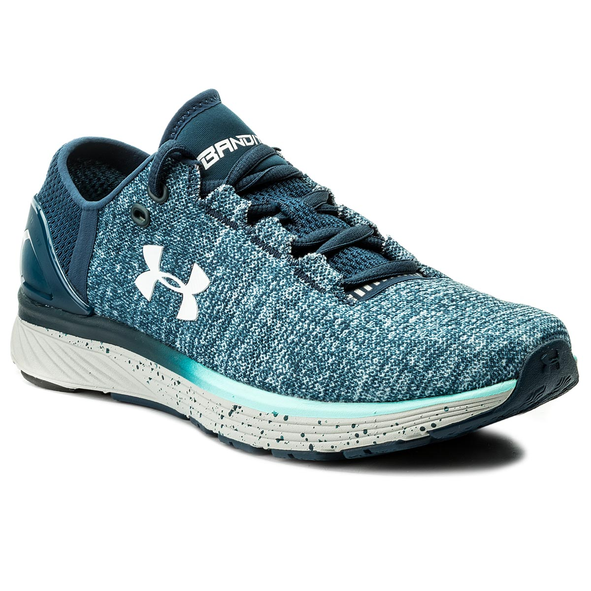 Buty UNDER ARMOUR - Ua W Charged Bandit 3 1298664-918 Tui/Bif/Wht