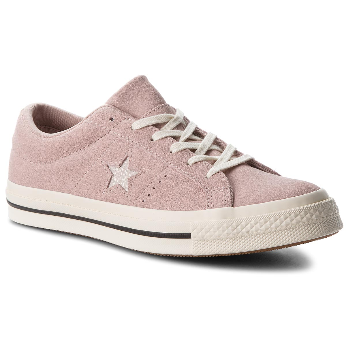 Tenisówki CONVERSE - One Star Ox 161539C Diffused Taupe/Silver/Egret