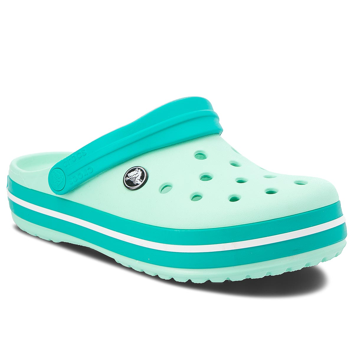 Klapki CROCS - Crocband 11016 New Mint/Tropical Teal