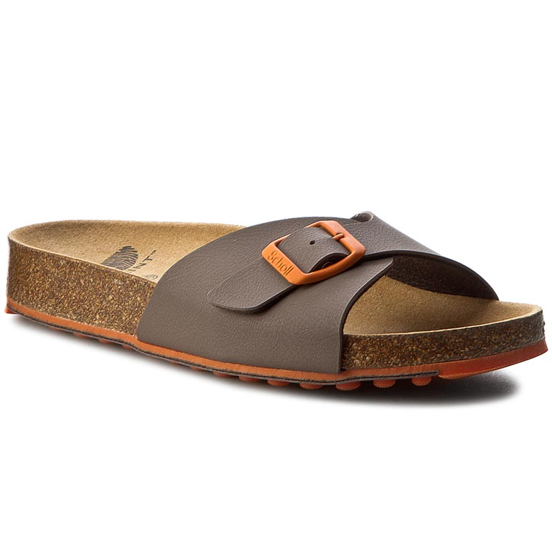 Klapki SCHOLL - Spikey Ss4 F26564 1483 350 Brown/Orange