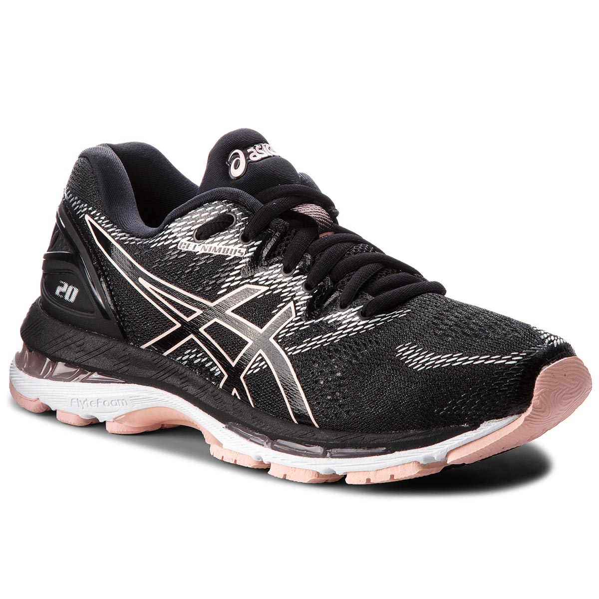 Buty ASICS - Gel-Nimbus 20 T850N Black/Frosted Rose 001
