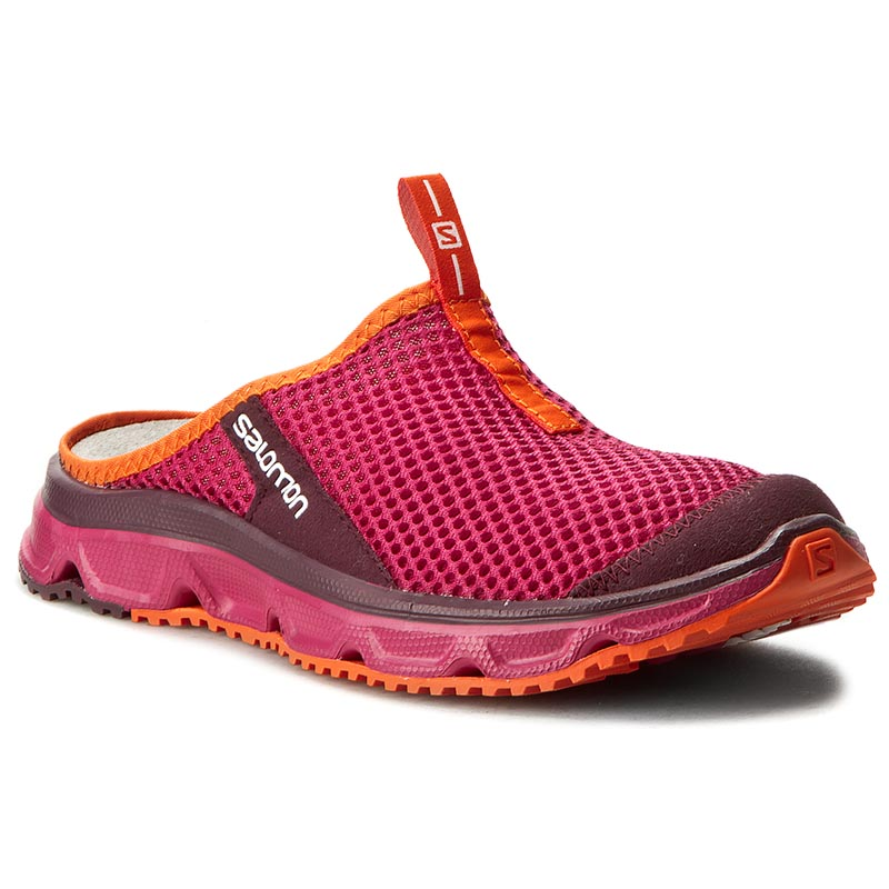 Klapki SALOMON - Rx Slide 3.0 W 392447 20 M0 Sangria/Fig/Flame