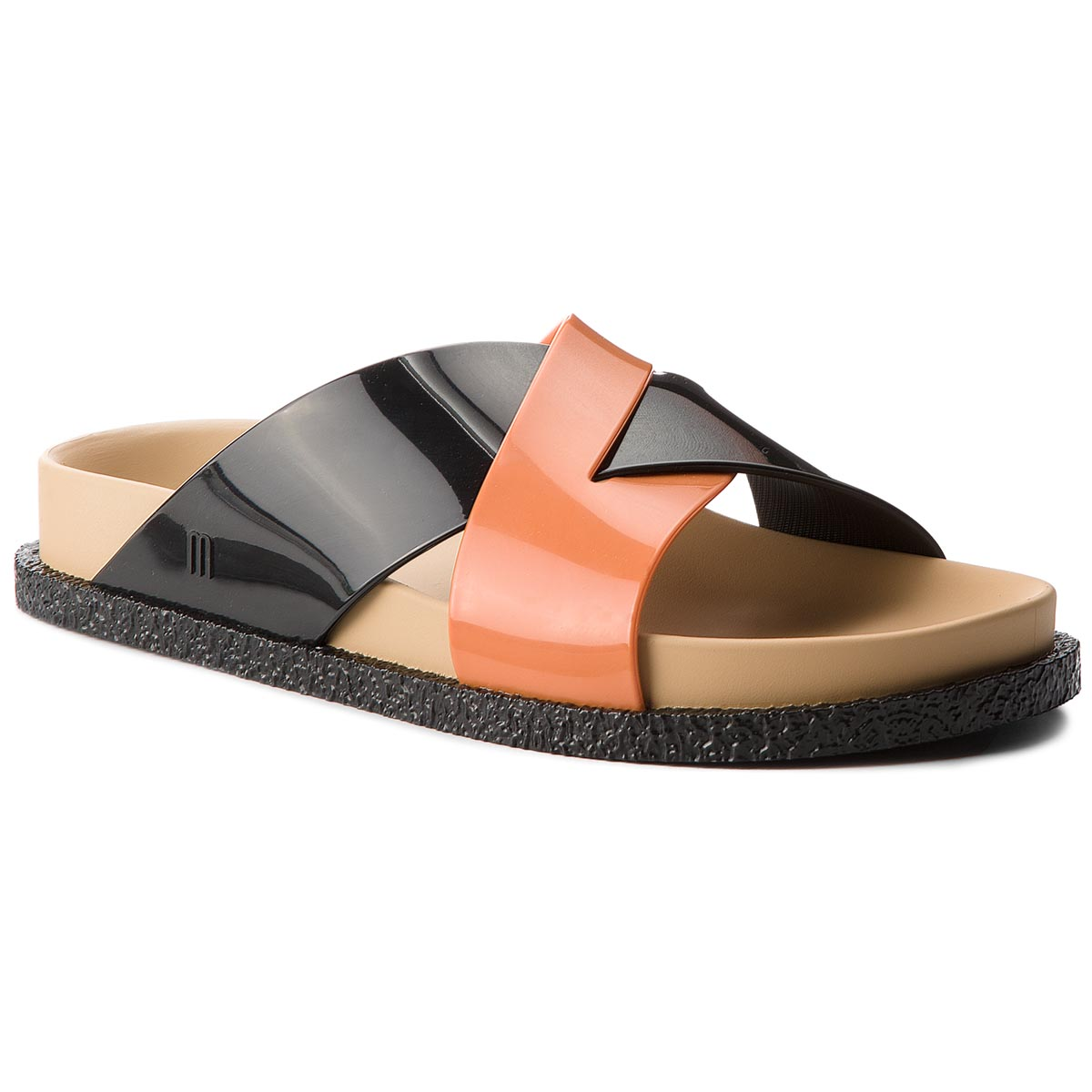 Klapki MELISSA - Energy Ad 32336 Black/Beige/Orange 52040