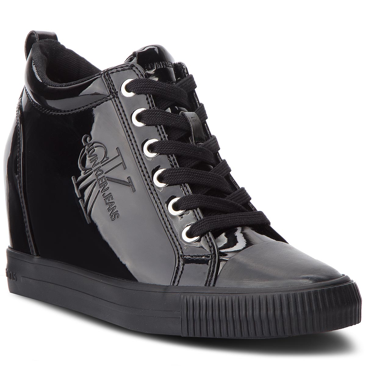 Sneakersy CALVIN KLEIN JEANS - Ritzy RE9799  Black