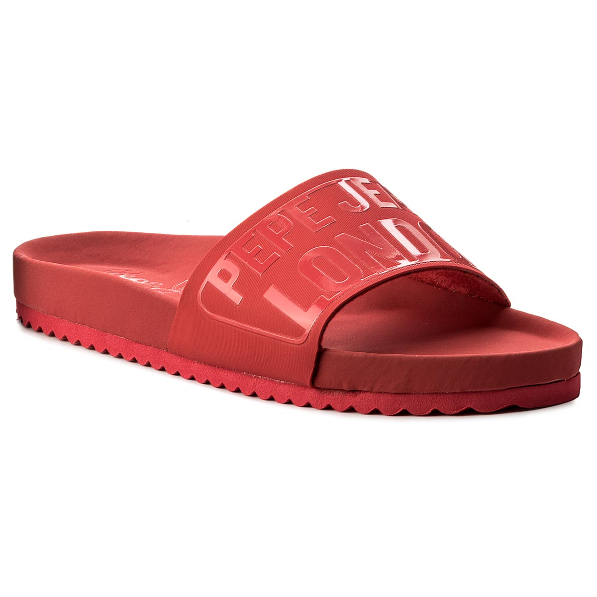 Klapki PEPE JEANS - Bio Royal Block L PLS90349 Red 255