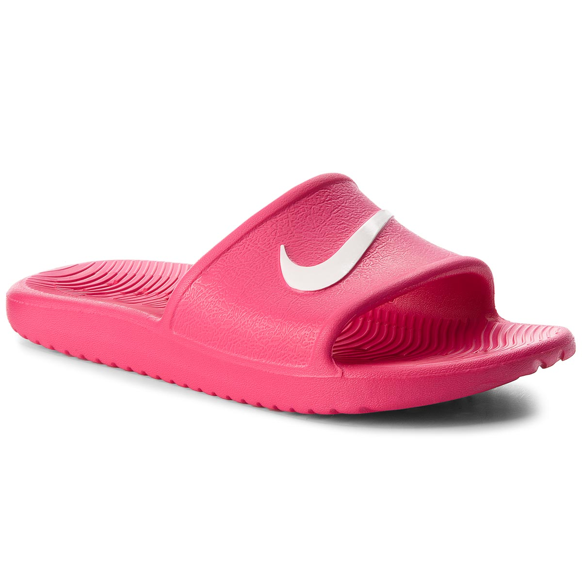 Klapki NIKE - Kawa Shower (GS) AQ0899 601 Rush Pink/White